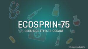 ecosprin 75 tablet pragnancy uses in hindi