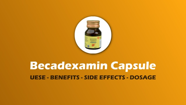 Becadexamin Capsule IN HINDI
