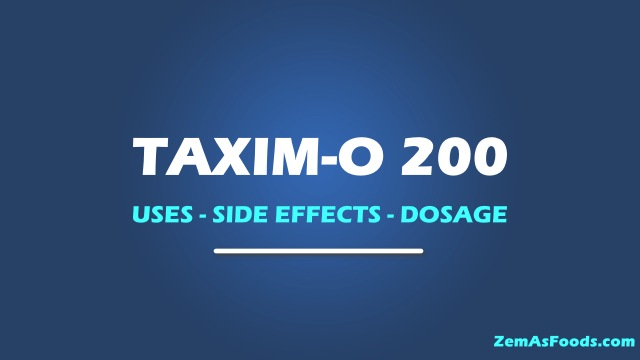 taxim 0 200 tablet uses side effects in hindi
