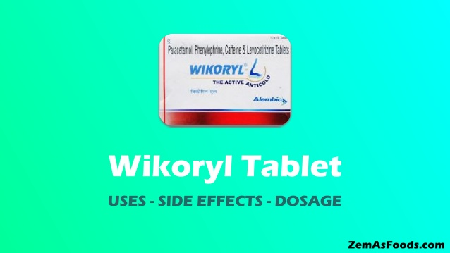 wikoryl tablet uses in hindi
