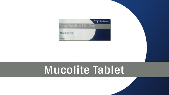 mucolite tablet