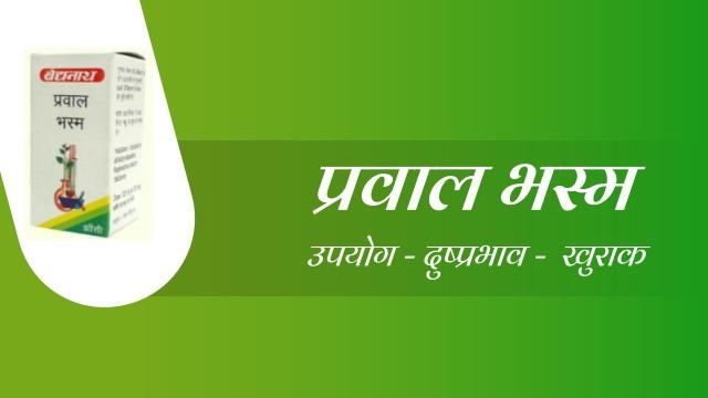 Prawal Bhasma in Hindi