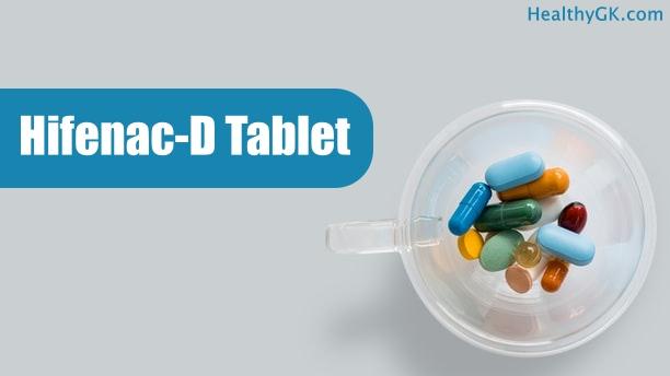Hifenac D Tablet in hindi