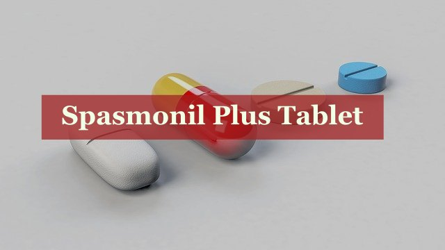 Spasmonil Plus Tablet
