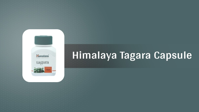 himalaya tagara capsule in hindi