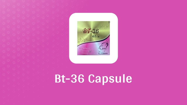 Bt-36 Capsule