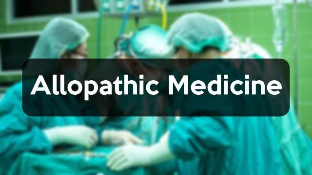 Allopathic Medicine in Hindi